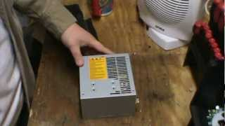 How to Scrap a PC Power Supply for copper aluminum and cash