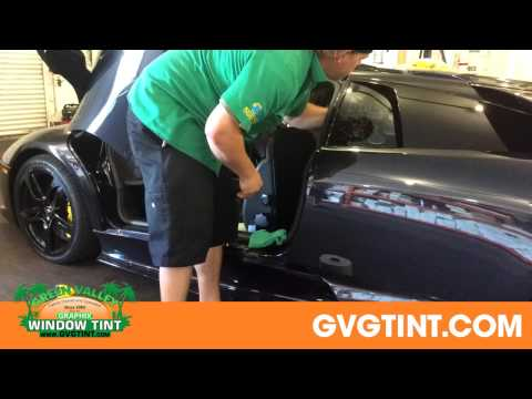 Lamborghini Window Film Installation Henderson NV - (702) 566-4000