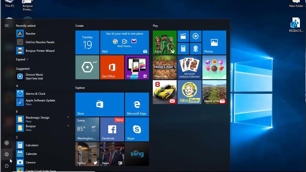 Uninstall DaVinci Resolve Studio 14 on Windows 10 Creators Update