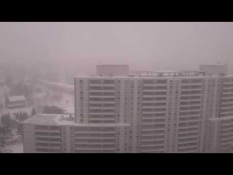 North York, ON Canada: Snow Storm