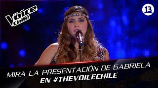 The Voice Chile | Gabriela Pulgar - Qué sería