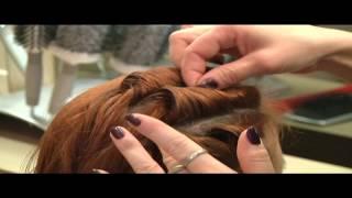 Jak zrobić fryzurę a'la ślimak z długich włosów