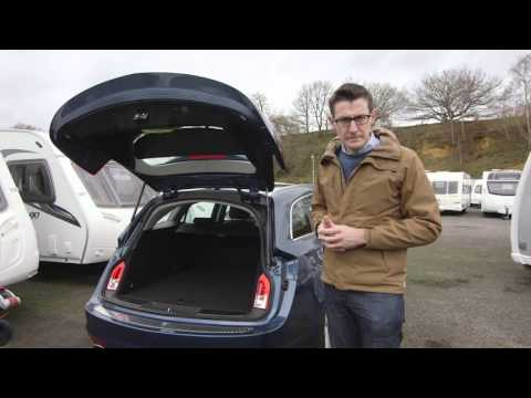 Vauxhall Insignia Sports Tourer towing review with The C ing and Caravanning Club