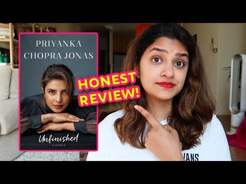 Unfinished by Priyanka Chopra Jonas – Honest Book Review