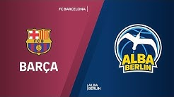 FC Barcelona - ALBA Berlin Highlights | Turkish Airlines EuroLeague, RS Round 3