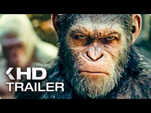 WAR FOR THE PLANET OF THE APES Trailer...