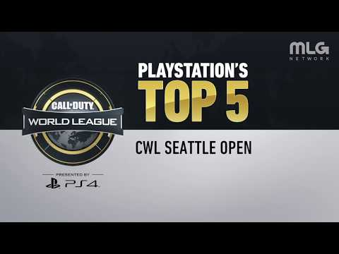 Top 5 Plays of CWL Seattle Presented by PlayStation