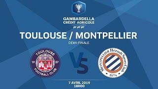 Coupe Gambardella-CA I Demi-finale - Toulouse FC / MHSC