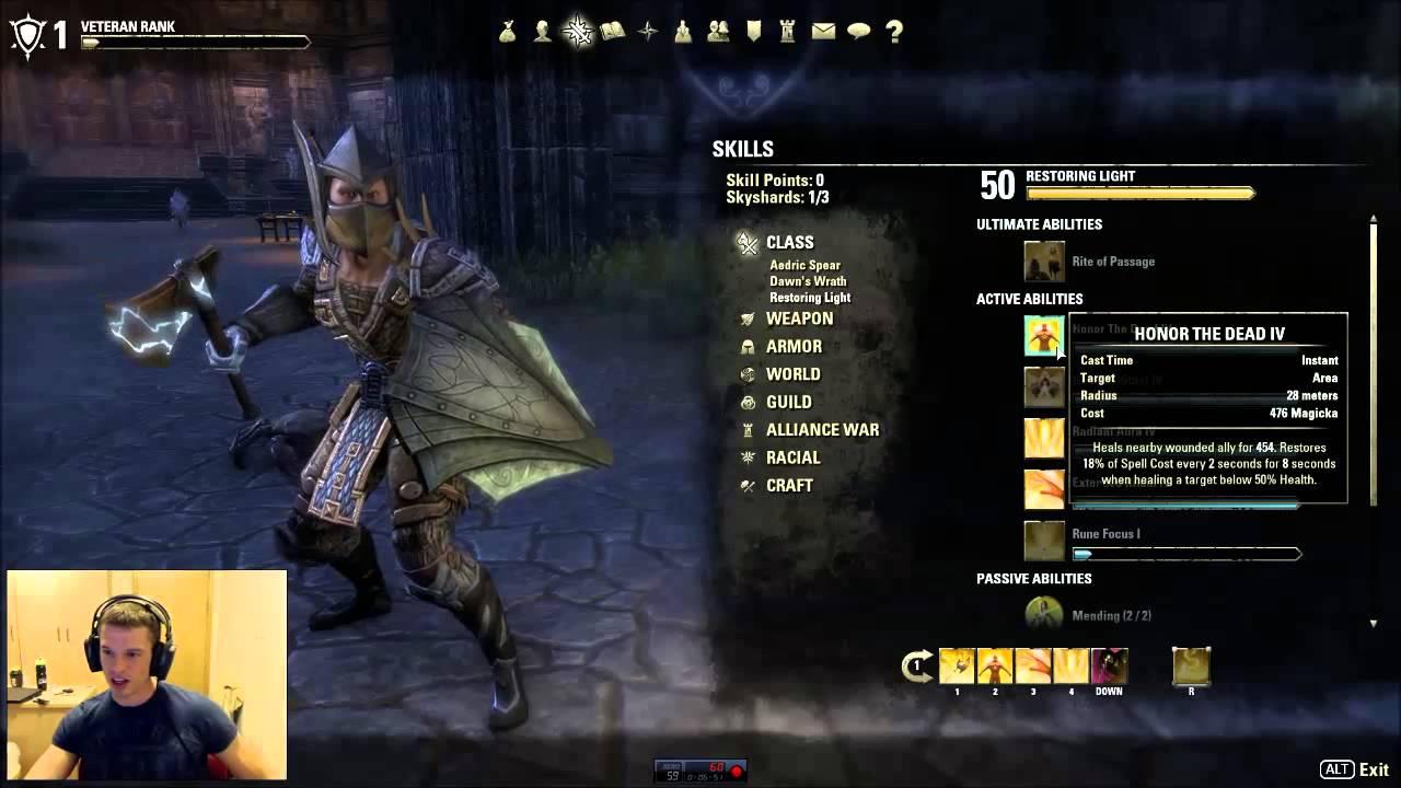Best Dragonknight Build Imperial