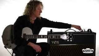 In The Studio: Freddy DeMarco and VOX Custom Series Tips (AC30C2, AC15C1, AC4C1-BL)