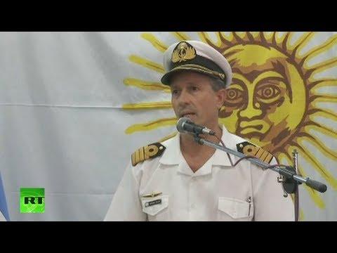 Buscan al submarino ARA San Juan en un radio de 40 kilómetros