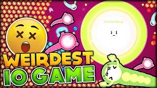 BRAND NEW IO GAME | THE WEIRDEST IO GAME TO BE MADE | Ovar.io (Owned by Agar.io LOL)