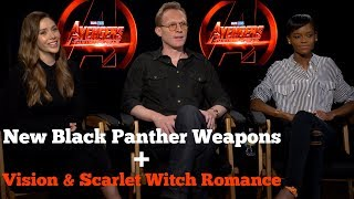 Infinity War New Black Panther Weapons Vision  Scarlet Witch Romance