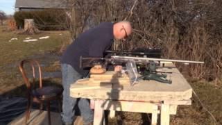 Testing the Hankins custom Smokeless Powder Muzzleloader Round 2