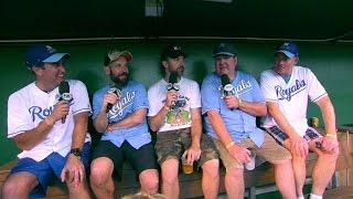 DET@KC: Royals host Big Slick Celebrity Softball game