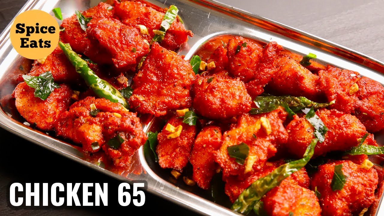 Download RESTAURANT STYLE CHICKEN 65 | EASY CHICKEN 65 RECIPE | CHICKEN 65
