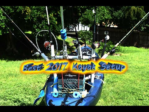 The most organized inshore and offshore kayak setup of 2017