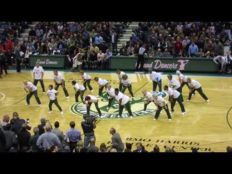 Bucks Grand Dancers Harlem Shake Nov 20 2017