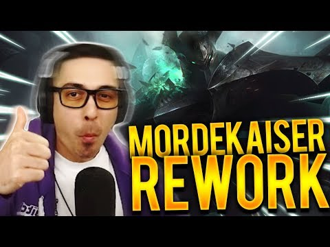 TRYING OUT NEW MORDEKAISER - Trick2g
