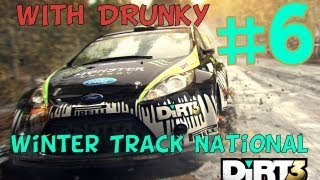 Dirt 3 - Winter Track National (Gameplay/Commentary) (PC/HD)