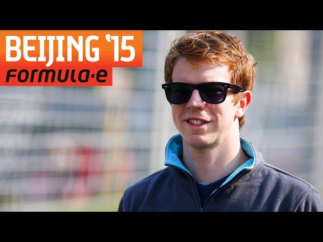 Formula E Garage Tour w/ Oliver Turvey! - Formula E