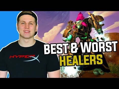 Patch 7.3: Best and Worst Healer Classes in World of Warcraft Legion