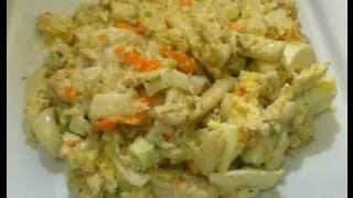 Low Carb Macaroni  Tuna Salad Recipe