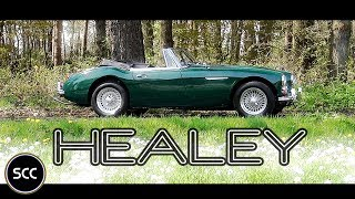 Austin Healey 3000 Mkiii MK3 MK 3 1967 - Test Drive in top gear - Engine Sound | SCC TV