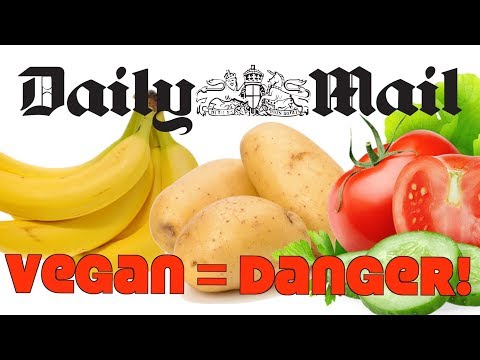 Daily Mail: Vegan Diet Dangers! Serious Health Problems