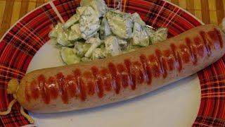 Немецкая картофельная колбаса. Как сделать домашнюю колбасу: вкусную и полезную.