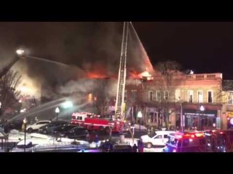 Elm Street fire in Morristown, Jan. 30-31, 2015