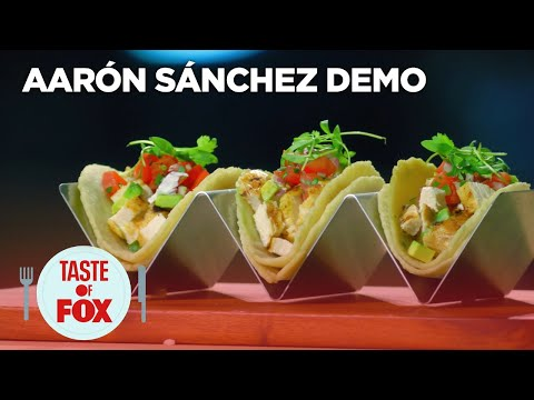 Aarón Sánchez Demonstrates How To Make Perfect Tortillas   TASTE OF FOX