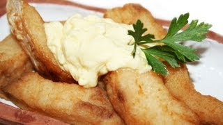 Nile Perch Fried With Mayonnaise