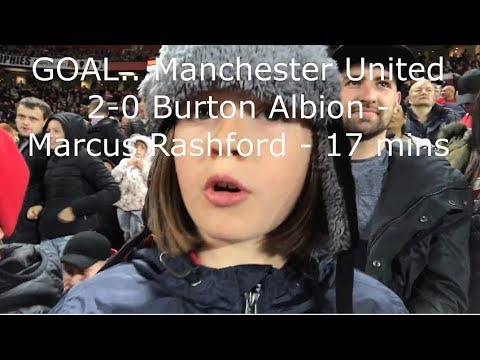 Manchester United v Burton Albion | Match Day Vlog | Carabao Cup Third Round | 20.09.2017