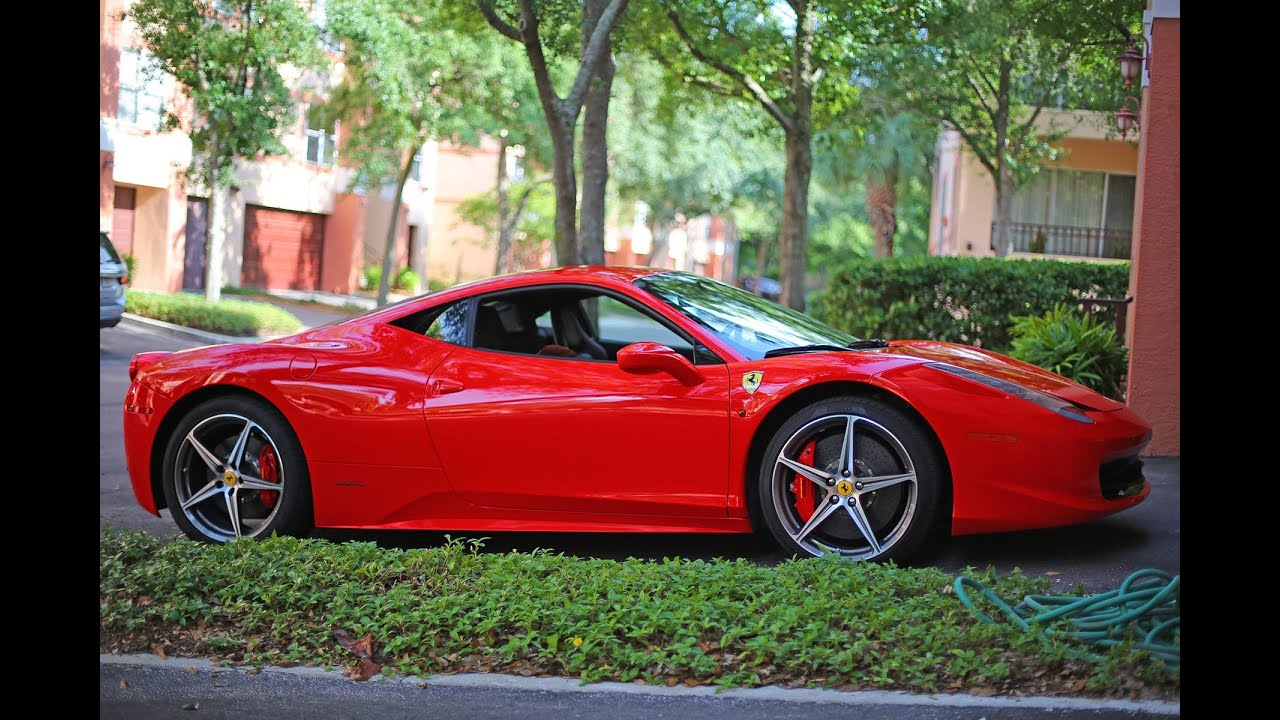 Ferrari 458 italia 2013 model review youtube vanachro Choice Image