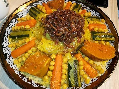 طريقة-تحضير-الكسكس-المغربي-على-حقو-وطريقو-لذيذ-وبنين/كسكس-مغربي-/couscous-marocain