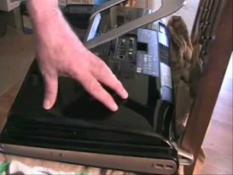 Hard drive replace and clone HP TouchSmart 300 PC_0001