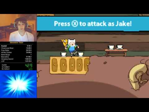 Adventure Time: Hey Ice King! Why'd you steal our garbage?!! Speedrun WR (1:19:49)