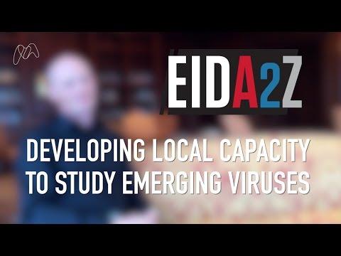 Developing local capacity to study emerging viruses