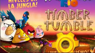 Angry Birds Rio Timber Tumble 11 to 15 by 3stargoldenegg
