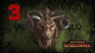 Прохождение Total War: WARHAMMER - Око за око #3 - Торжество насилия [Зверолюды]