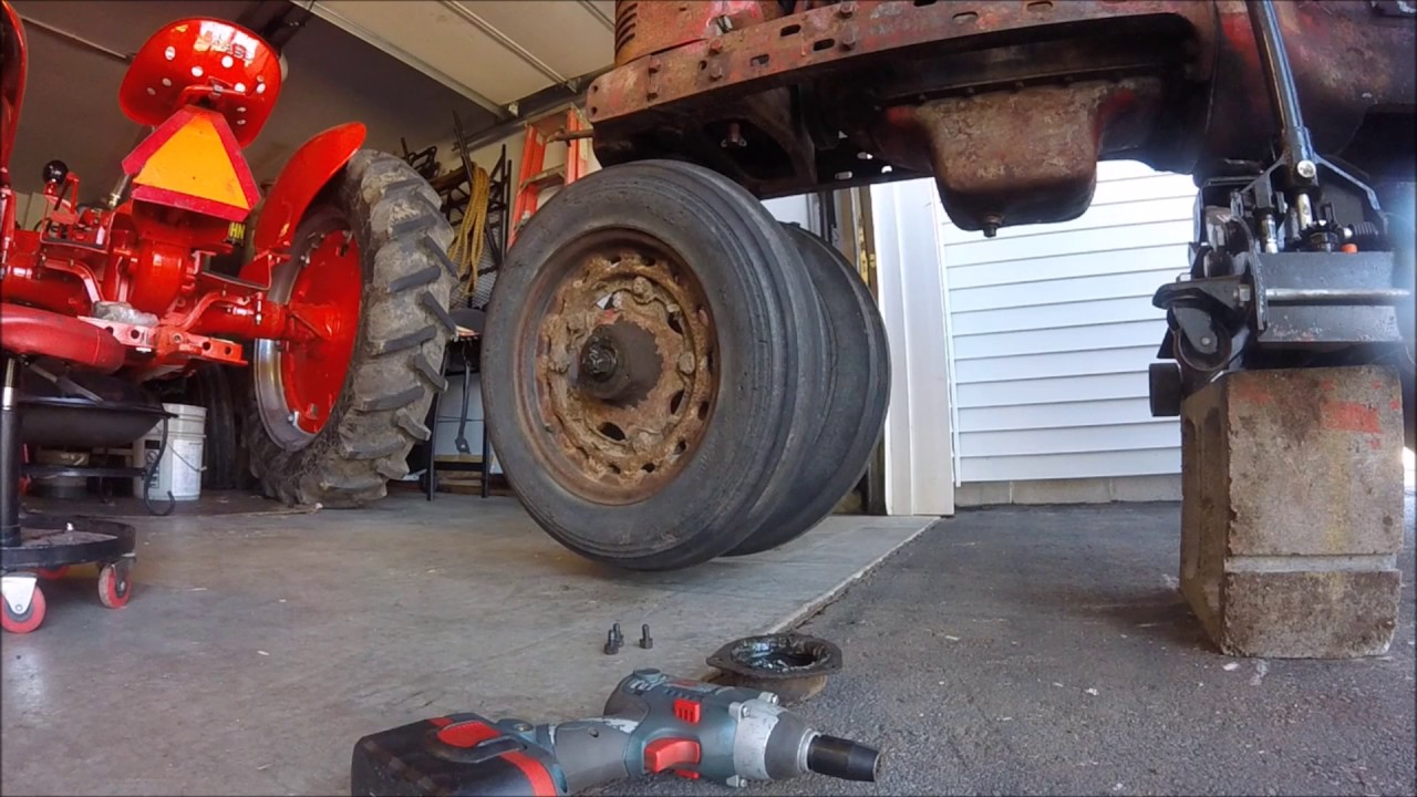 medium resolution of 1942 farmall h episode 11 wheel replacement 12 volt issues giveaway farmall m wheel bearing diagram