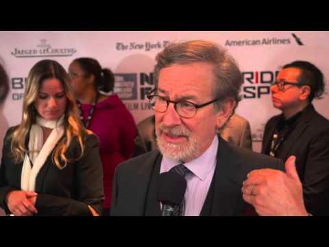 Bridge of Spies: Director Steven Spielberg Carpet Movie Premiere Interview
