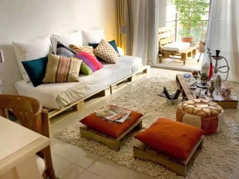 Pallet Sofa Bed Ideas  Diy Pictures Of Pallet Furniture