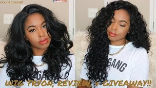 Wig Review & GIVEAWAY!!! || Bobbi Boss Tatiana | Sensationnel Boutique Deep || Divatress.com
