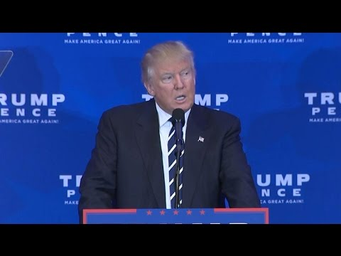 "Full Video: Donald Trump speech on Obamacare ""catastrophe"""