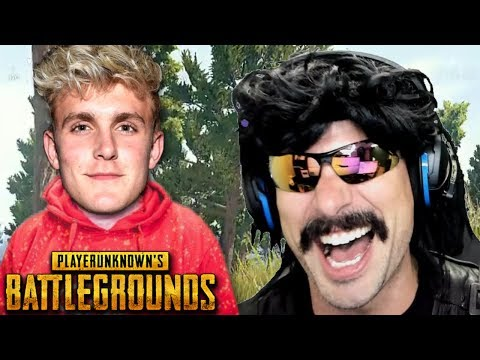 Thumbnail: DrDisRespect's Funny Roast on Jake Paul and Best Moments on PUBG!