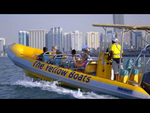 Abu Dhabi Tour | The Yellow Boats