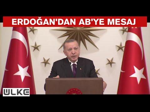 Cumhurbaşkanı Erdoğan: ''Türkiye, Avrupa ailesinde hak ettiği yeri almalıdır''