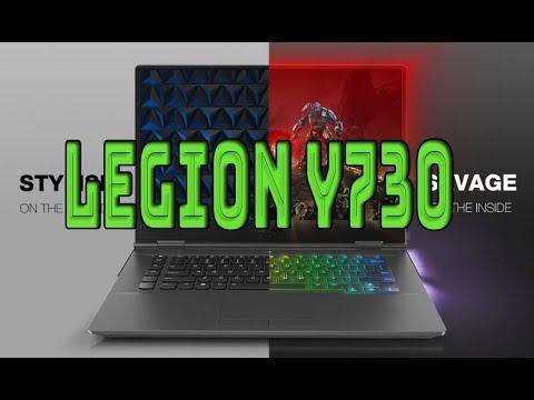 Обзор ноутбука Lenovo Legion Y730